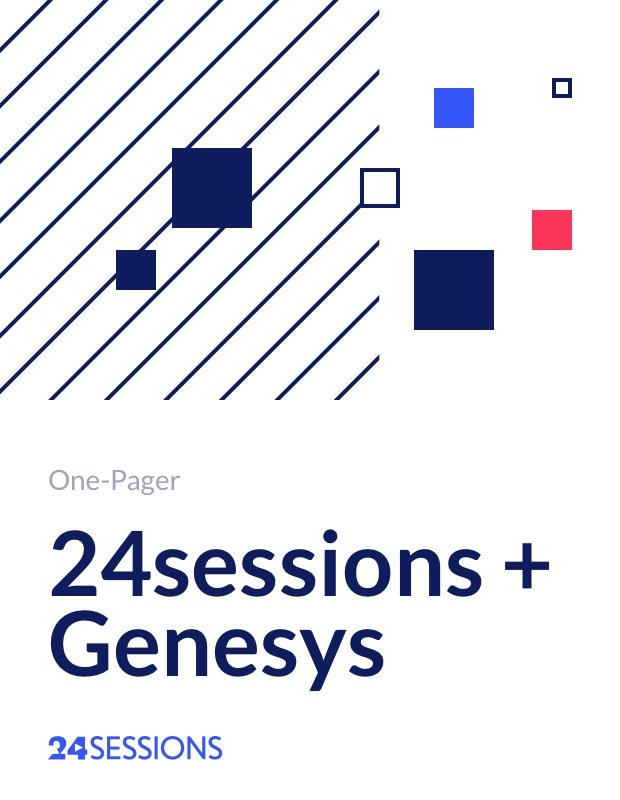 24sessions + Genesys