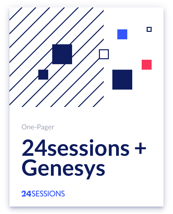 24sessions + genesys big