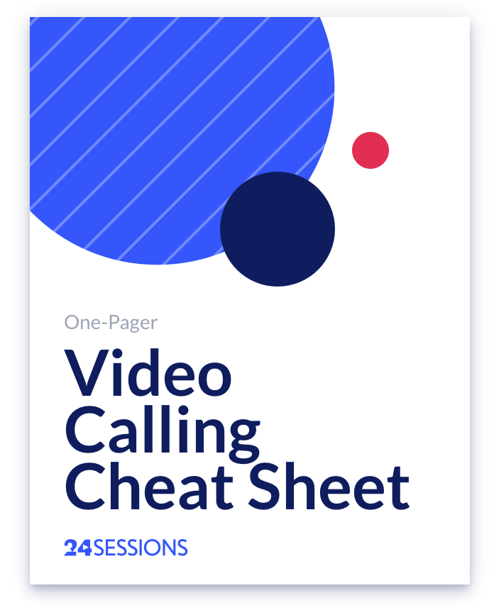 Video Calling Cheat Sheet big-1