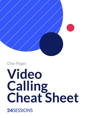 Video Calling Cheat Sheet-1