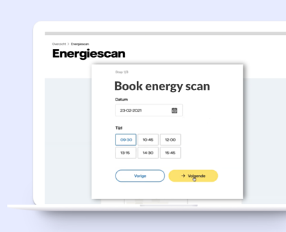 Example-booking-form-integration-frontend-Vattenfall