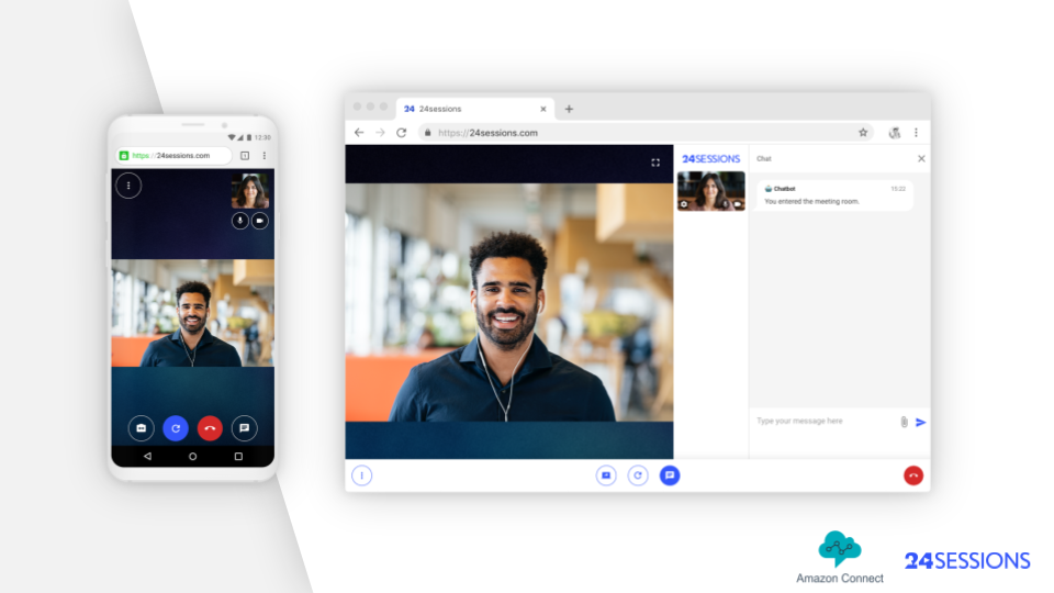 New: Add video-first customer experiences to Amazon Connect