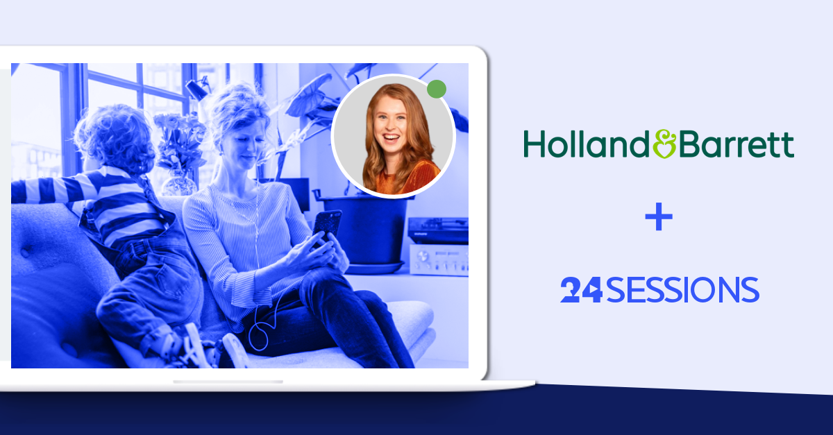 Holland & Barrett delivers personal online Retail Experienceswith live video calls