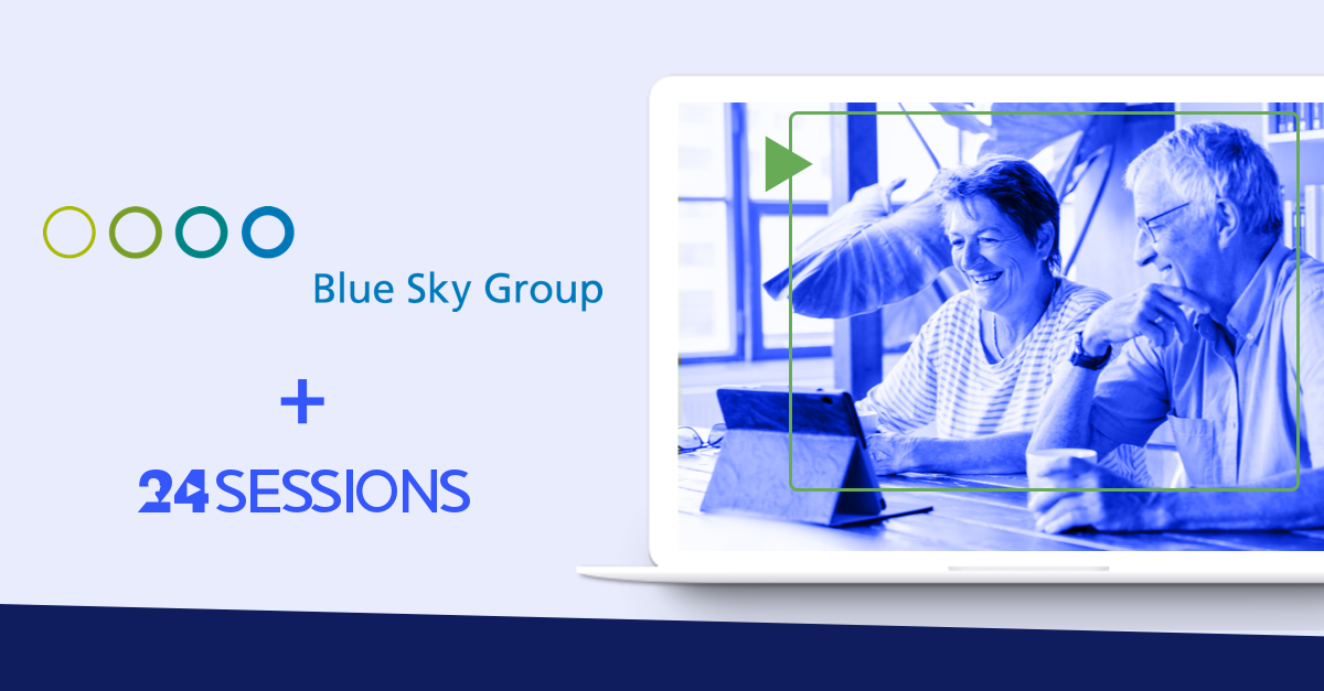 Video calls help pension conductor Blue Sky Group to better understand customer's needs