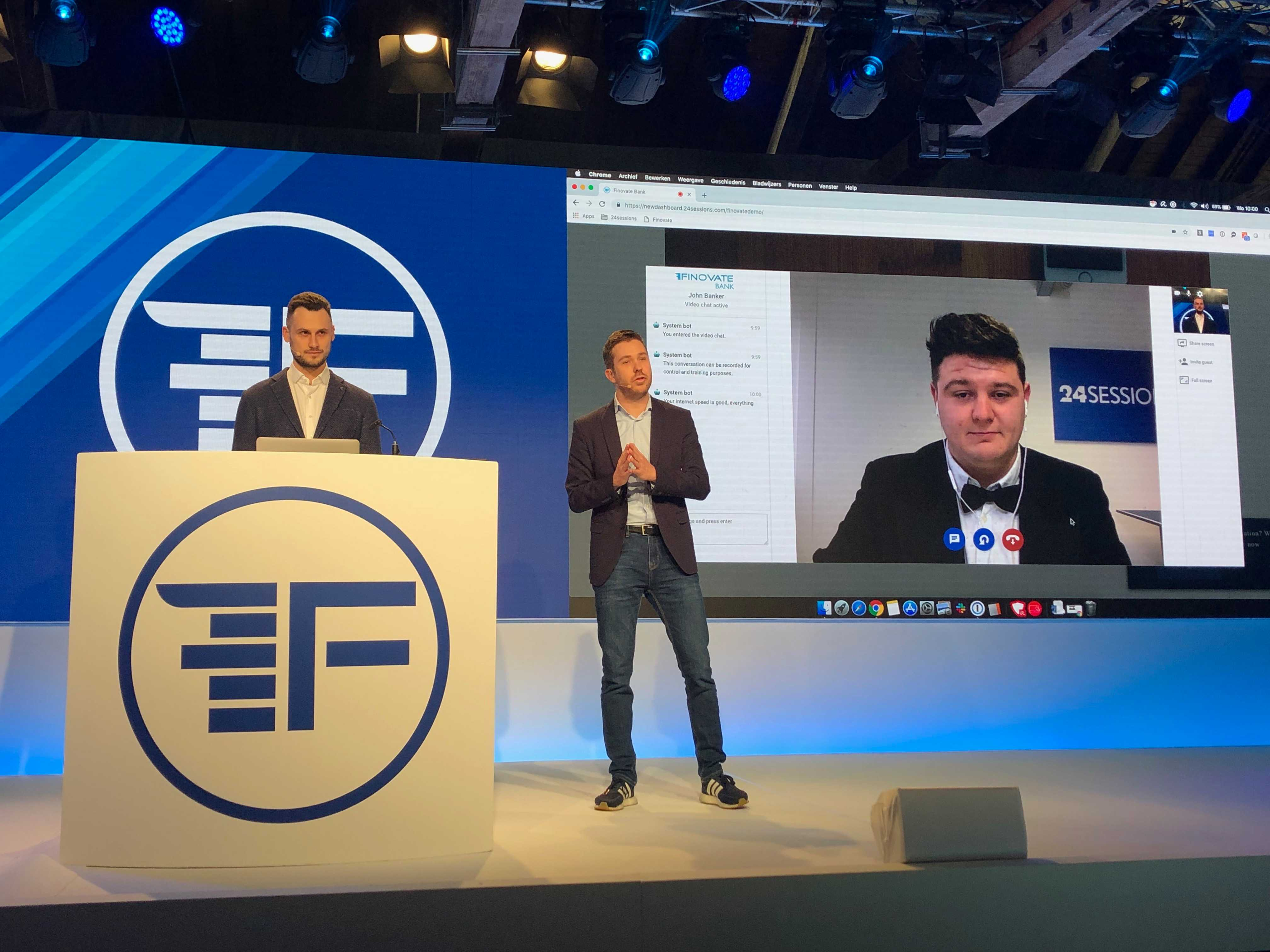 Bringing Video Banking to Finovate Europe 2019